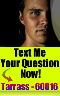 Text me your question - Tarrass - 60016 - I want to give your answer!